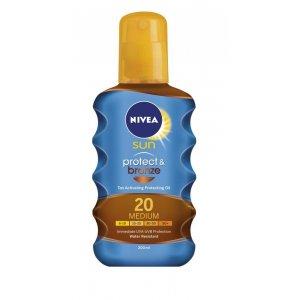 Nivea Sun Protect & Bronze Oil Spray SPF 20