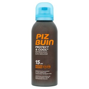 Piz Buin Protect & Cool Refreshing Sun Mousse SPF15