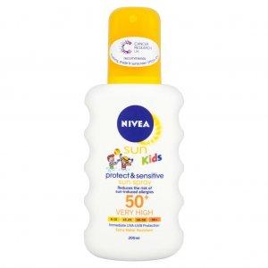 Nivea Sun Kids Protect & Sensitive Sun Spray SPF50+
