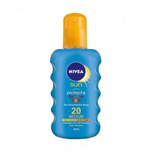 Nivea Sun Protect & Bronze Spray SPF20