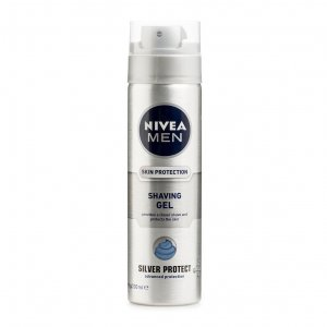 Nivea Men Silver Protect Shaving Gel