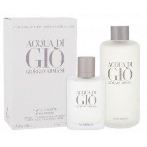 Giorgio Armani Acqua di Giò Pour Homme Men (Set 2)