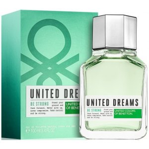Benetton United Dreams Be Strong Men (EDT)