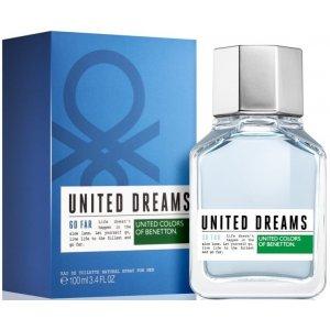 Benetton United Dreams Go Far Men (EDT)