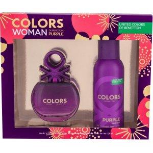 Benetton Colors de Benetton Purple Women (Set)