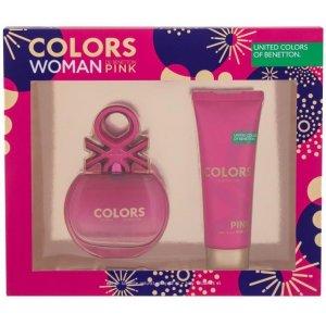 Benetton Colors de Benetton Pink Women (Set)